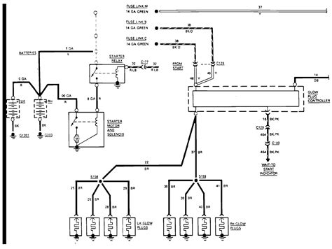 Diesel Glow Wiring Diagram by My Needs A Color Coded Glow Wiring Schematic For