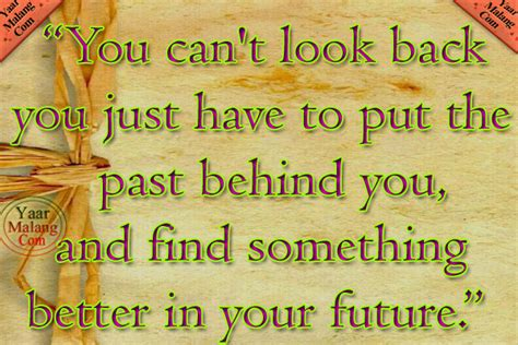 Cant Look Back Quotes