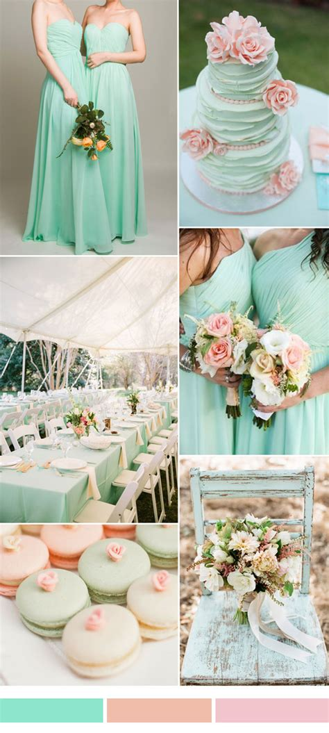 hot wedding color combination ideas   bridesmaid