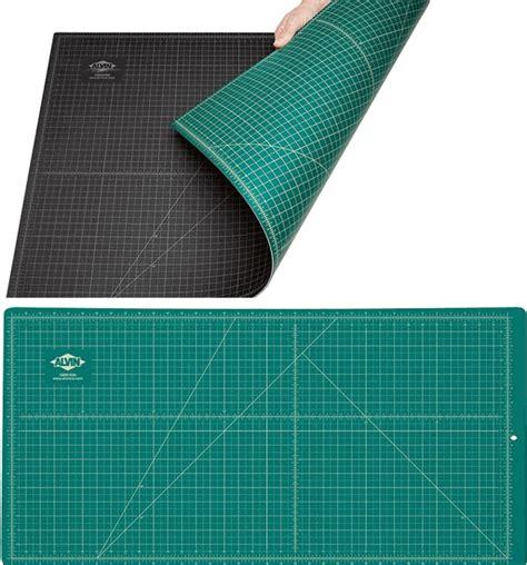 self healing cutting mat alvin self healing cutting mat 36 quot x 48 quot green and black