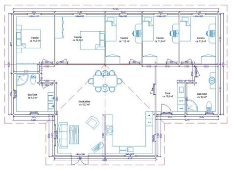 plan maison 6 chambres plan maison 5 chambres gratuit 12 6 systembase co
