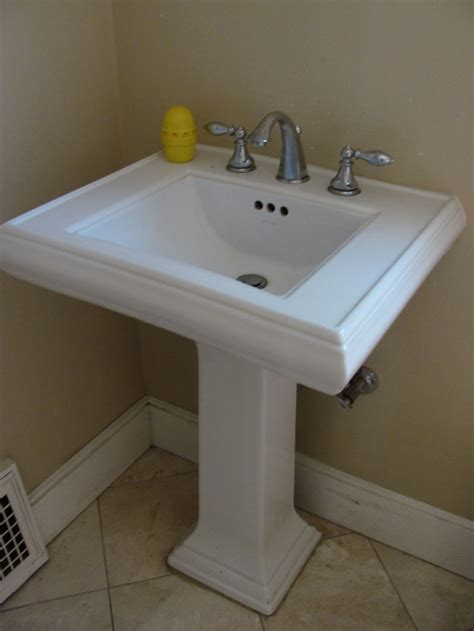 images  pedestal sinks  pinterest faucets