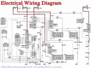 Volvo S40 V40 2001 Electrical Wiring Diagram Manual