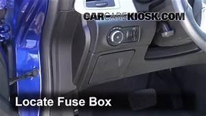 Interior Fuse Box Location  2012-2016 Buick Verano