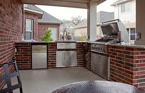 how to build an outdoor kitchen island outdoor kitchens spindler construction