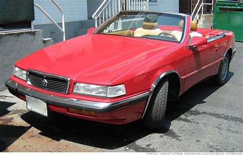 10 tarnished halo cars - Chrysler TC by Maserati 1989-1991 ...