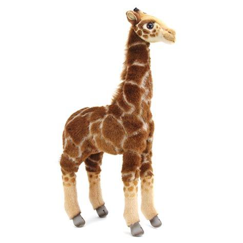 handcrafted   lifelike baby giraffe stuffed animal
