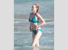 CSI's Marg Helgenberger displays enviable bikini body