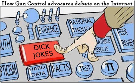 Gun Control And Dick Jokes