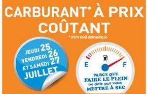 Essence à Prix Coûtant : essence diesel gpl prix coutant chez leclerc les 25 26 et 27 juillet ~ Medecine-chirurgie-esthetiques.com Avis de Voitures