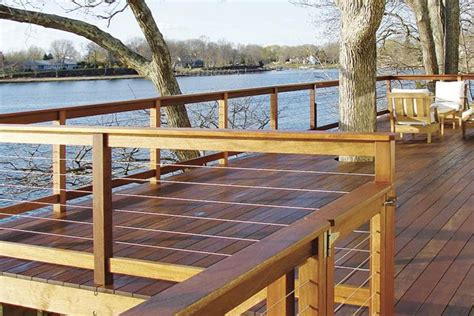 handiswage cable railing   redo   deck