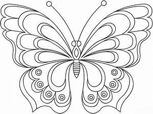 Ausmalbilder, Schmetterling, Ausmalbilder, Schmetterling