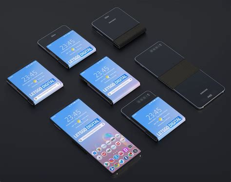 samsungs galaxy fold 2 could get a clamshell style square design the samsung galaxy fold 2 could challenge motorola s razr foldable phone