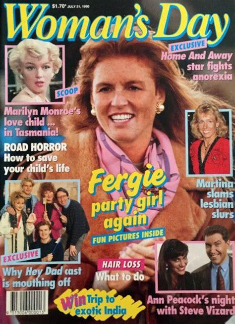 fergie woman s day magazine july 31 1990 sarah ferguson 1990 magazines