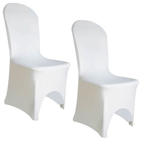 white spandex chair covers event essentials