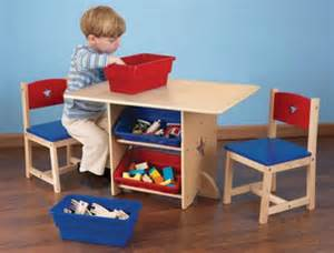 contemporary children wooden table and chair design for