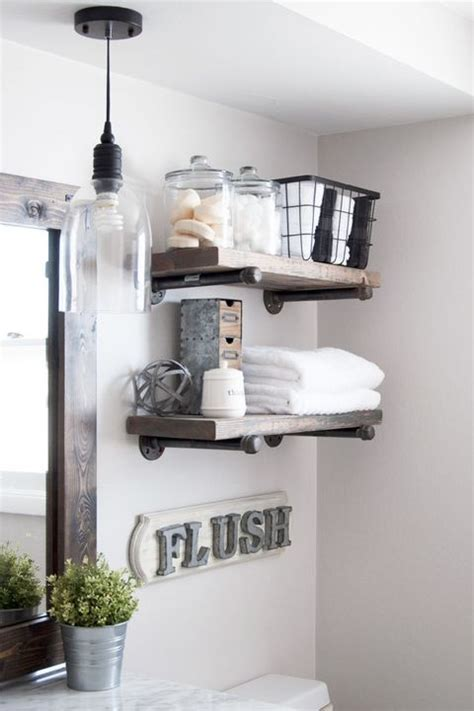 bathroom shelf ideas  bathroom shelving ideas