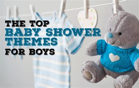 Baby Shower Ideas For Boys Decorations Elitflat