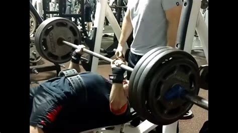 Bench Press Record  Close Grip 385 At 175 Lbs Youtube