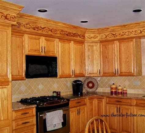 Decorating Ideas For Kitchen Bulkheads a creative way to disguise kitchen soffits diy