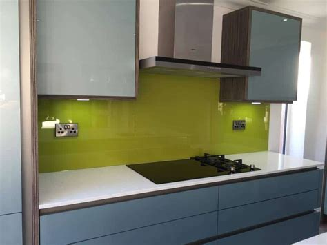 lime green splashback kitchen coloured glass kitchen and bathroom splashbacks and worktops 7110