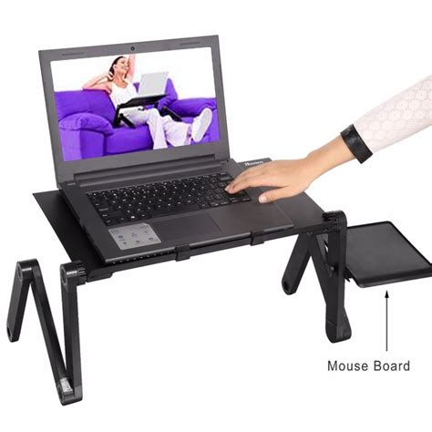 aliexpress buy homdox computer desk portable adjustable foldable laptop notebook pc