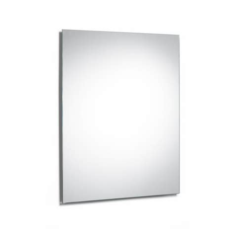 roca luna   mm square bathroom mirror