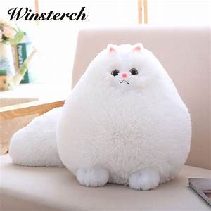 aliexpresscom buy fun plush fluffy cats persian cat With best soft fluffy pillows