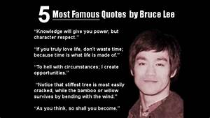 Take 2 Tablets -- Bruce Lee: Be Like Water..... - YouTube