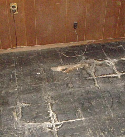 asbestos tile  basement massapequa