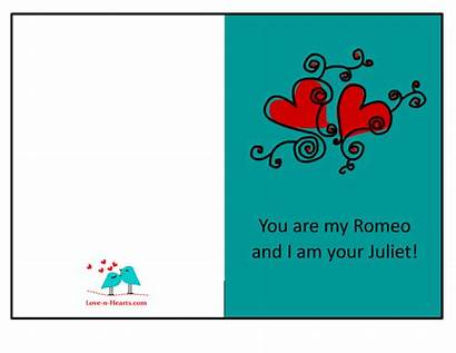 Romantic Card Him Cards Printable Quote Sociable