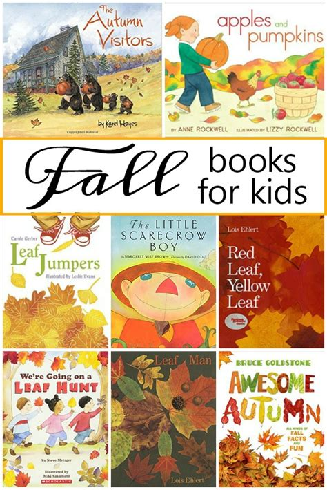 fall books for fantastic amp learning 614 | books about fall collage