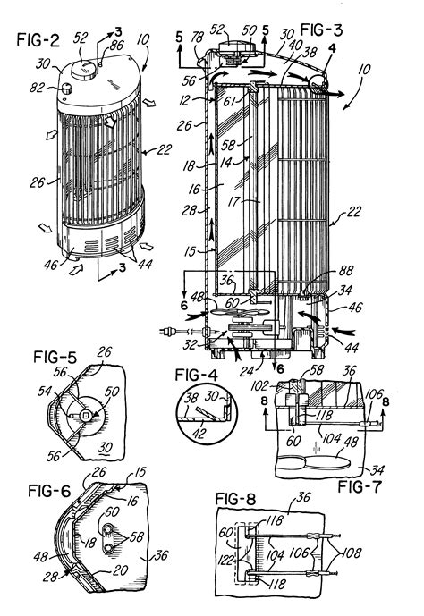 Holme 1 Touch Heater Wiring Diagram by Patent Us6351602 Upright Radiant Electric Heating