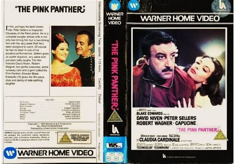 Pink Panther, The (1963)on Warner Home Video (united