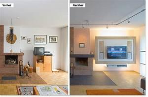 Möbel Vorher Nachher : wohnzimmer vorher nachher ~ Markanthonyermac.com Haus und Dekorationen