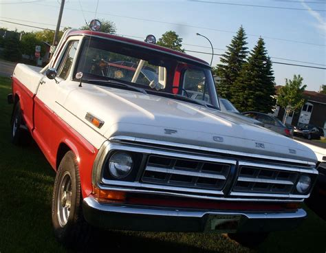 ford  series pickup truck history