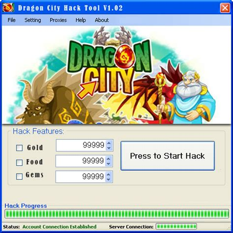 Dragon City Hack Tool v1 02 GAMES EXTENSION PARADISE
