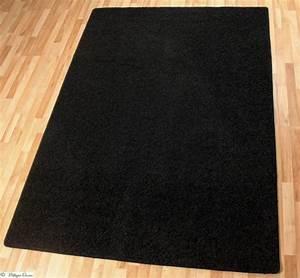 Hochflor Teppich Schwarz : teppich hochflor schwarz rhodos 160x230 b qualit t ~ Markanthonyermac.com Haus und Dekorationen