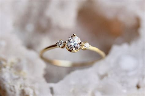 beautiful unconventional engagement rings