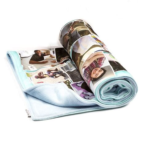 Wolldecke Selbst Gestalten by Photo Blankets Custom Blankets Collage Blankets