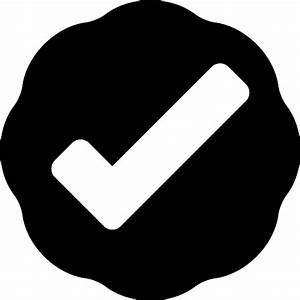 Verification symbol - Free signs icons