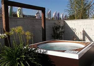 Hausgarten mit garten whirlpool for Whirlpool garten mit rollbrett pflanzkübel