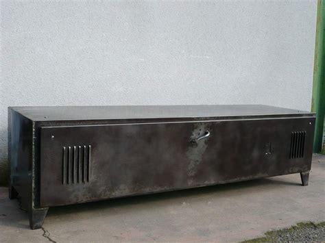 meuble tv bas metal