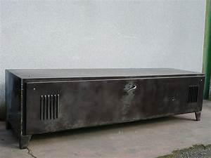 Meuble En Fer : 7 les enfilades meubles tv geonancy design ~ Melissatoandfro.com Idées de Décoration