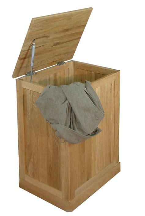 mobel oak laundry bin bathroom furniture