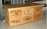 used wine crates wine crate projects | Small cabinet furniture made with ...