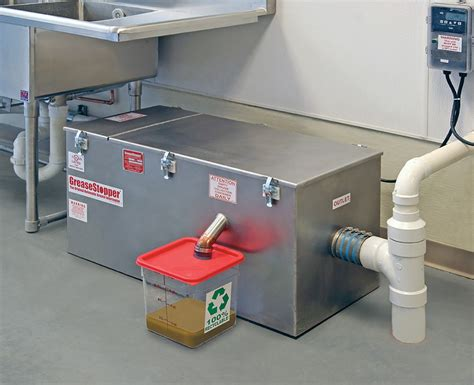 kitchen grease trap design grease interceptors by lowes highland can am instruments 4924