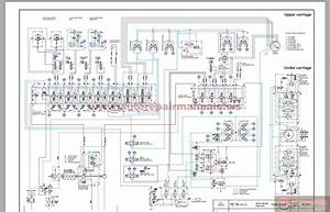 Terex Crawler Excavator  Model Tc75    Hr32  Schematic