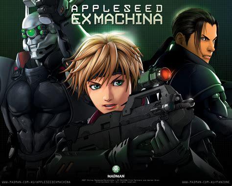anime fantasy thriller animation movie appleseed ex machina 2007 thriller