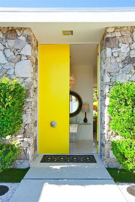 Door Springs Yellow by 26 Modern Front Door Designs For A Stylish Entry Shelterness